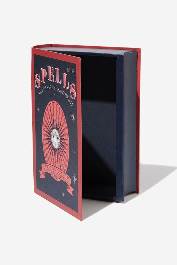 Secret Book Storage, SPELLS