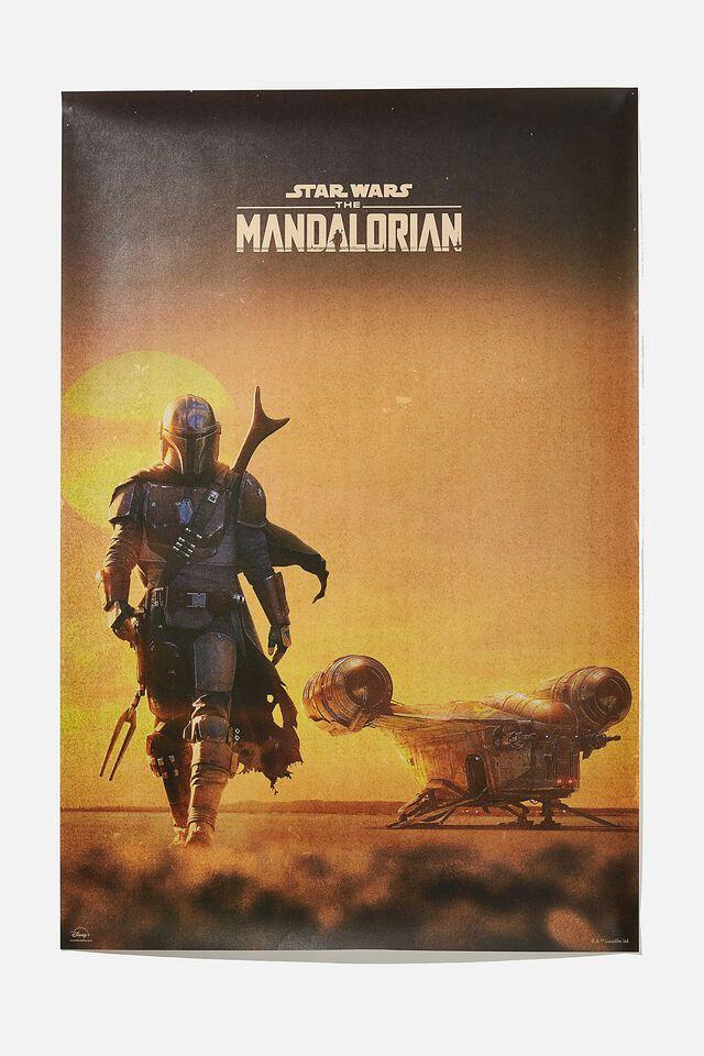 Hang Out Poster, LCN LUC MANDALORIAN