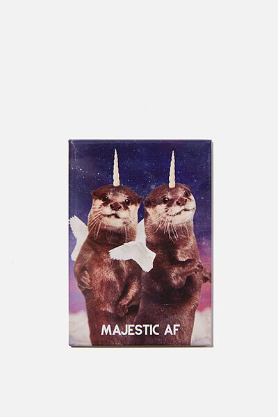 Quirky Magnets, MAJESTIC OTTER