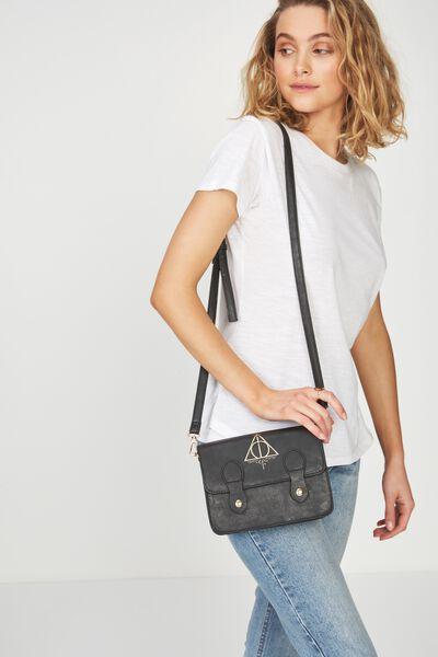 Mini Buffalo Satchel Bag, LCN HP HALLOWS