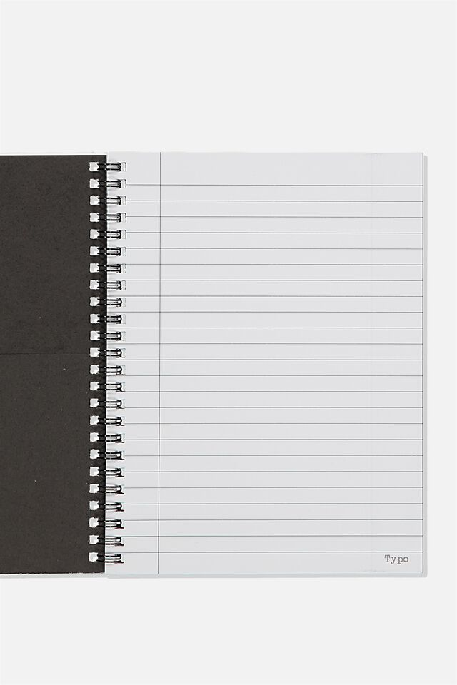 A5 Spinout Notebook Recycled, TORN BETWEEN