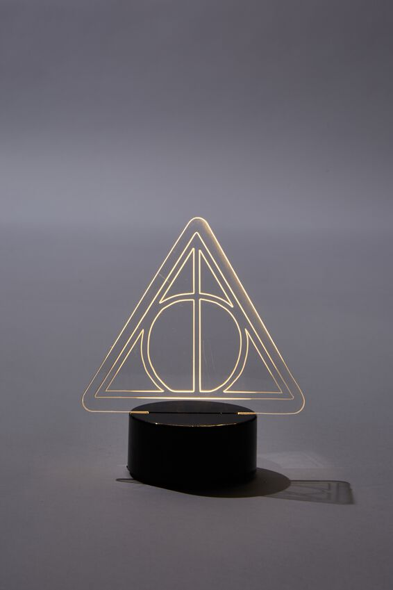 Harry Potter Mini Acrylic Light, LCN WB HP DEATHLY HALLOWS