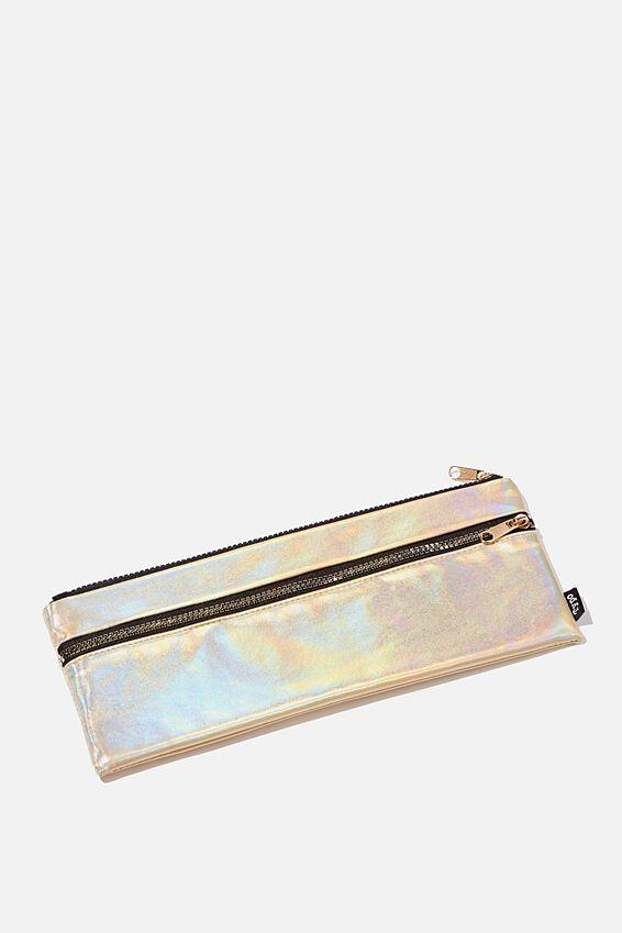 Patti Pencil Case, GOLD