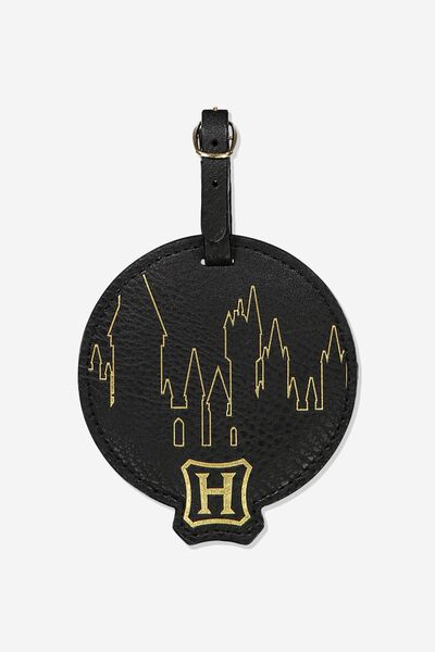 Shape Shifter Luggage Tag, LCN WB HPO HOGWARTS CASTLE