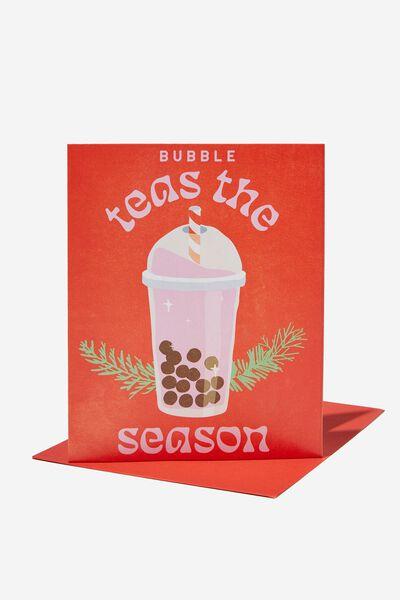 Christmas Card 2021, RG ASIA BUBBLE TEAS THE SEASON