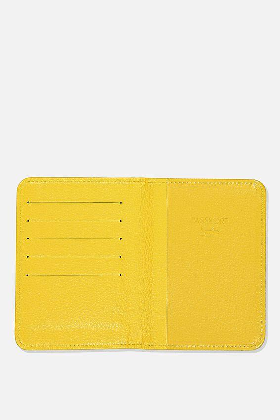 Rfid Passport Holder, WASHED SAGE QUOTE