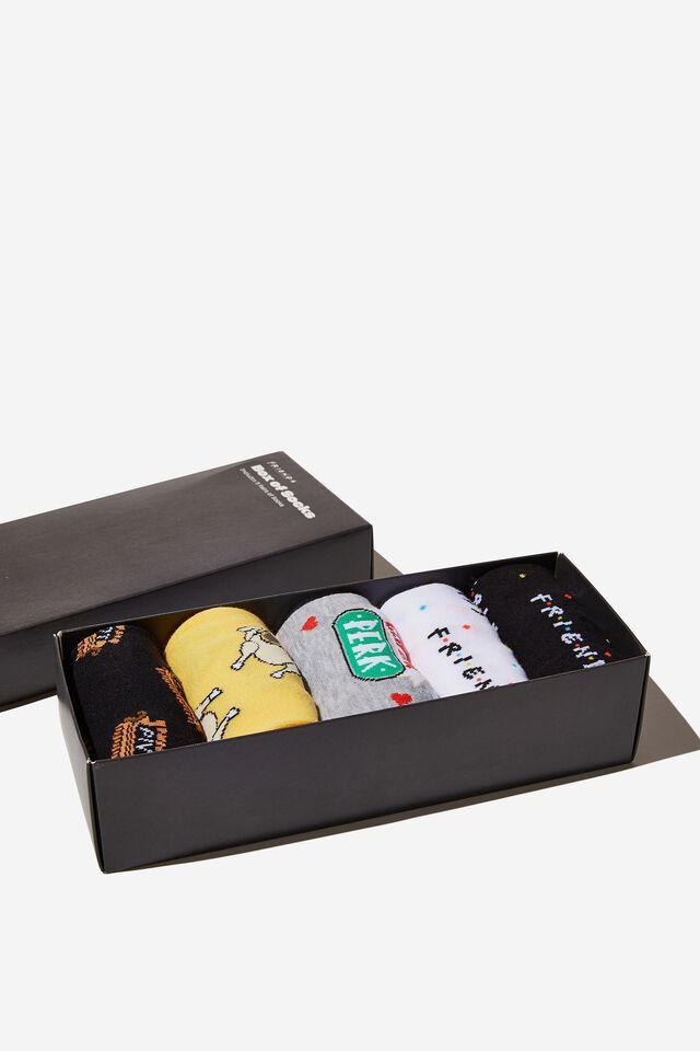 Friends Box of Socks, LCN WB FRIENDS (M/L)