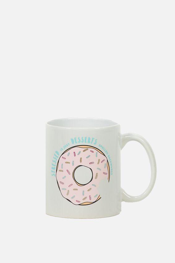Anytime Mug, STRESSED DESSERTS