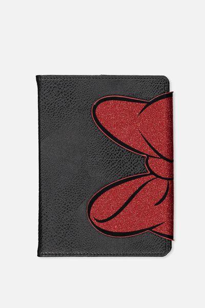 A5 Medium Shaped Notebook, LCN MINNIE BOW