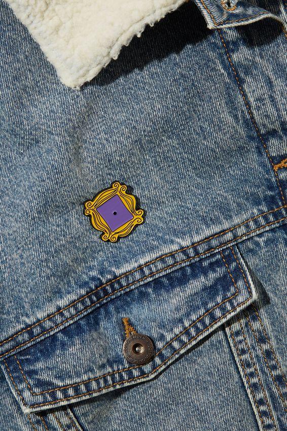 Enamel Badges, LCN WB FRIENDS DOOR