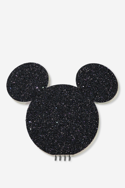 Shaped Make & Create Album, LCN MICKEY BLACK GLITTER