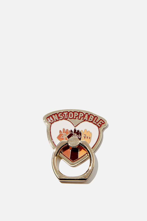 Enamel Phone Ring, UNSTOPPABLE