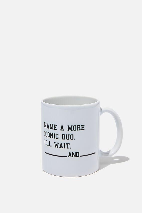 Personalised Mug, MORE ICONIC DUO