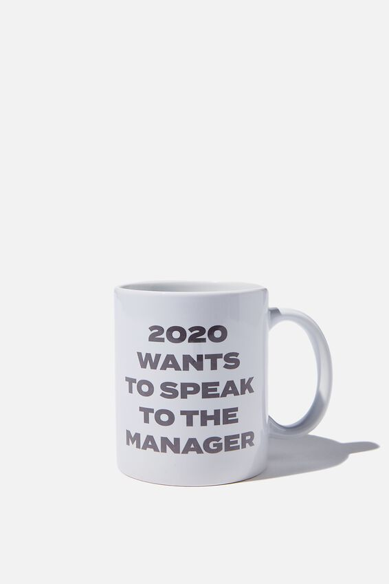 Limited Edition Anytime Mug, 2020 SPEAK TO THE