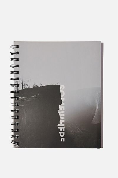 A5 Campus Notebook Recycled, SOMEWHERE