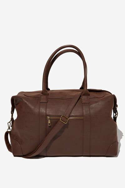 Nuevo Overnighter Bag, RICH TAN