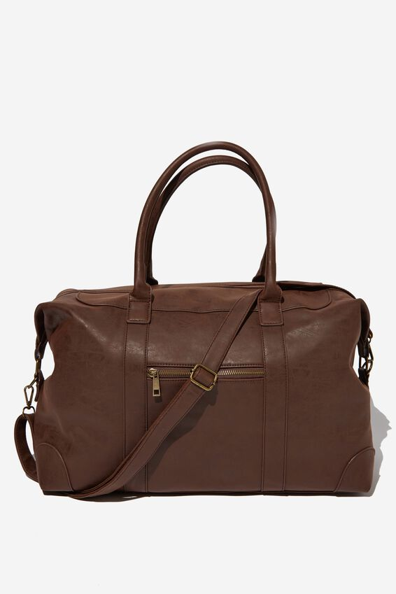 Nuevo Overnighter Bag, RICH TAN