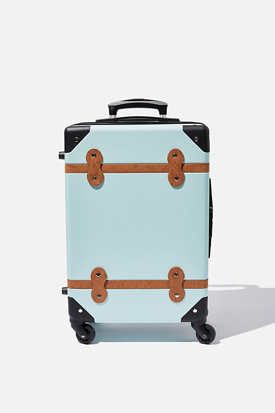 Travel Trunk Suitcase, SOFT MOSS