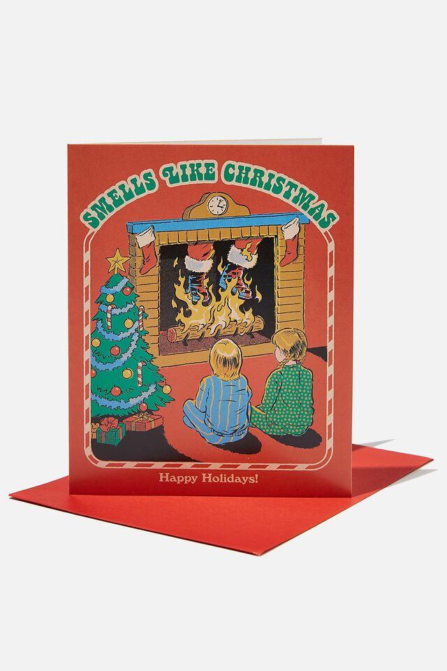 Steven Rhodes Christmas Card 2021, LCN STE STEVEN RHODES SMELLS LIKE CHRISTMAS!