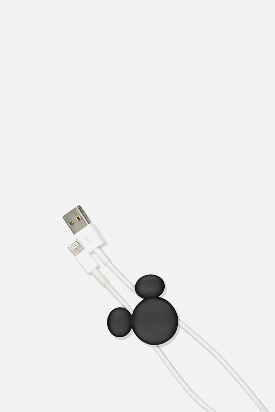 Novelty Cable Pinch 2 Pack, LCN DIS MICKEY HEAD