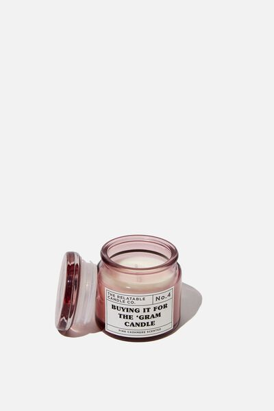 Mini Glass Candle, THE 'GRAM