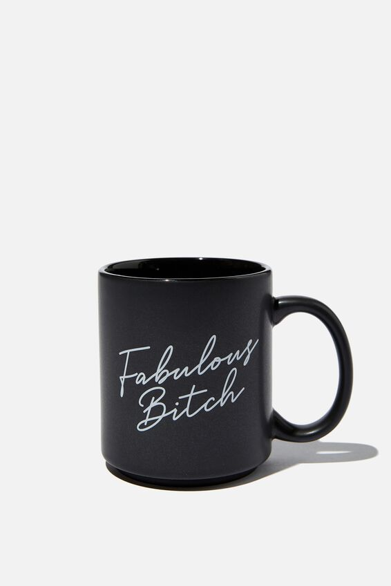 Daily Mug, FABULOUS BITCH BLACK!