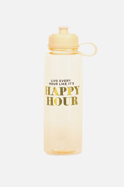 The Quencher Drink Bottle, HAPPY HOUR!