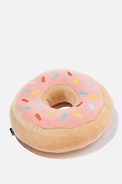 Super Soft Get Cushy Cushions, PINK DONUT