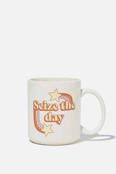 Daily Mug, SEIZE THE DAY