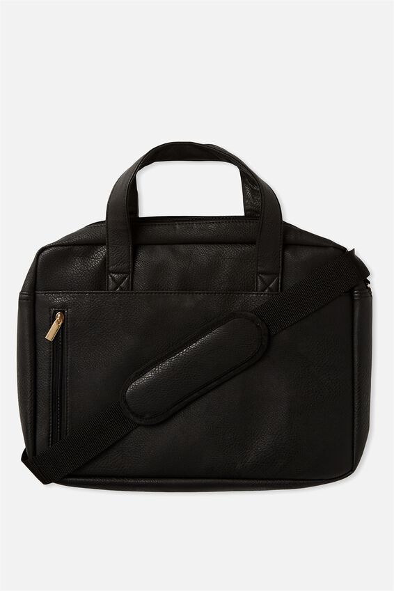 "Take Charge Laptop Bag 15"", BLACK"