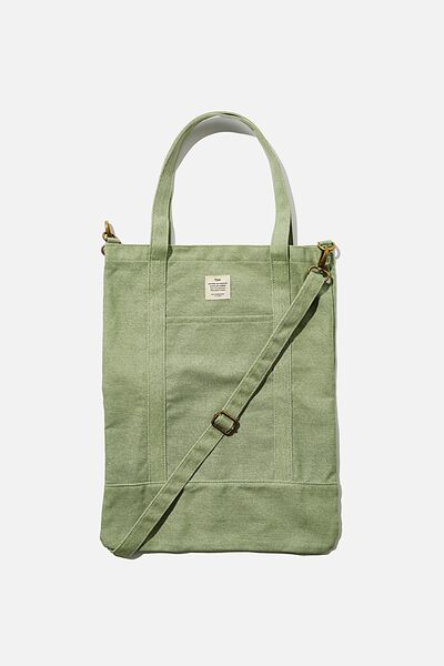 Book Tote Bag, EUCALYPT
