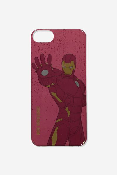 Printed Phone Cover Universal 6,7,8, LCN MARVEL IRON MAN