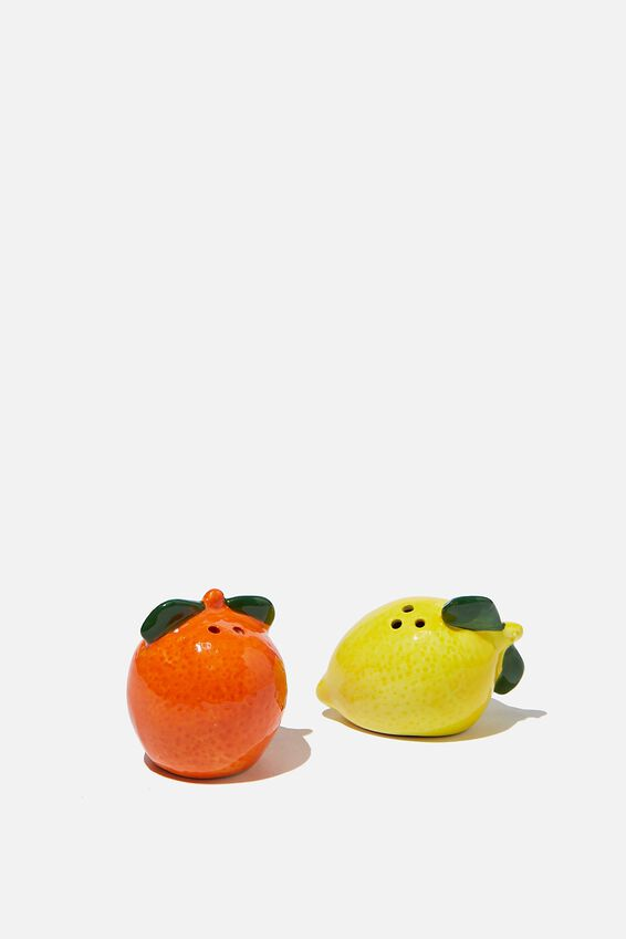 Salt & Pepper Shakers, FRUIT