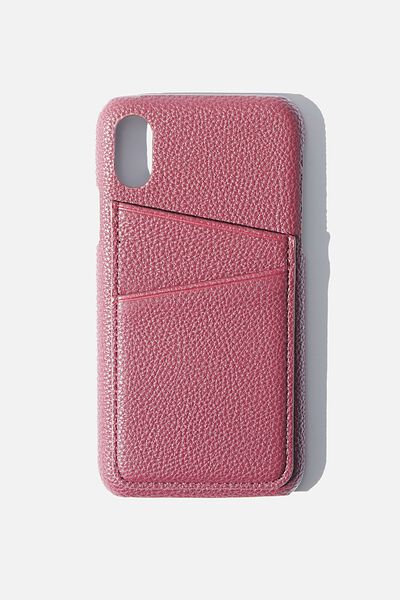 Cardholder Phone Case Iphone X,Xs, MULBERRY