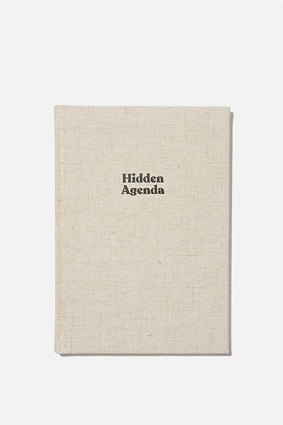 A5 Oxford Notebook, HIDDEN AGENDA