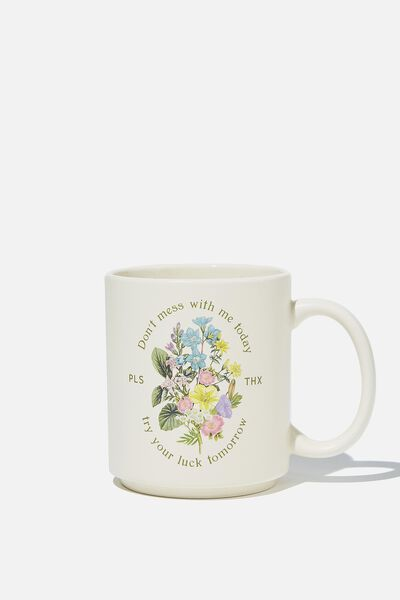 Daily Mug, TRY YOUR LUCK TOMORROW
