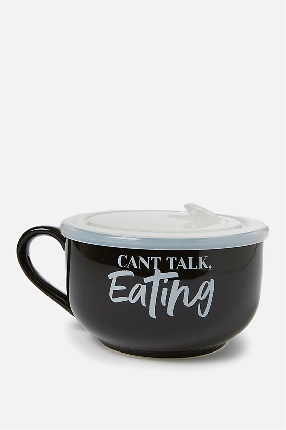 Big Mug Bowl, CAN'T TALK EATING