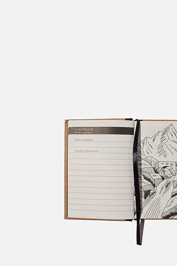 Mini Activity Journal, CRAFT DIGITAL DETOX