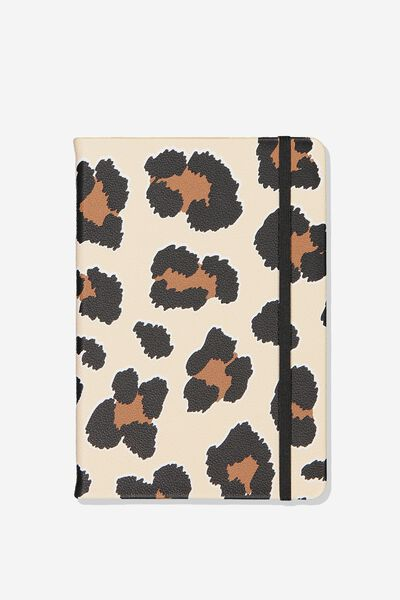 A5 Buffalo Journal, LEOPARD SPOTS