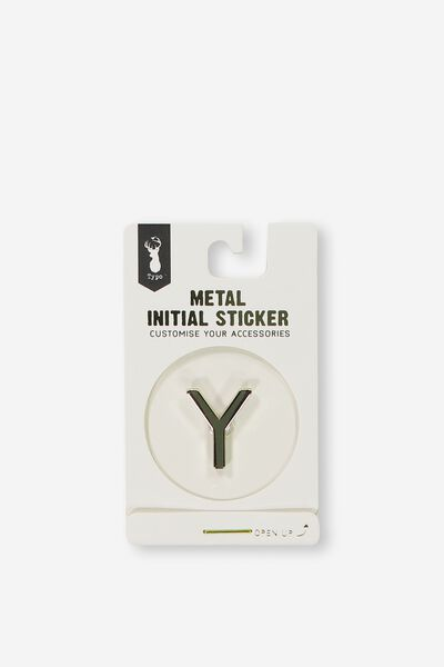 Metal Stickers, GOLD Y
