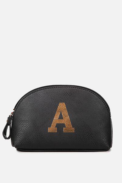 Alphabet Cosmetic Bag, A