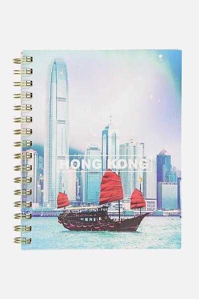 A5 Campus Notebook - 240 Pages, HONG KONG