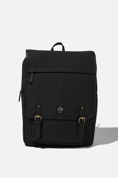 Heritage Backpack 2.0, WASHED BLACK