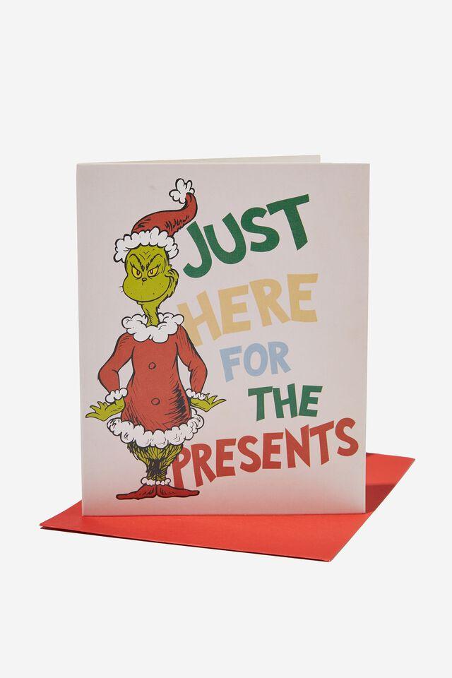 The Grinch Christmas Card 2021, LCN HAV THE GRINCH