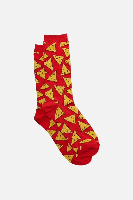 Socks, CORN CHIPS