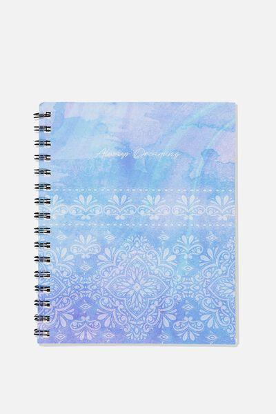 A5 Campus Notebook, MANDALA LACE