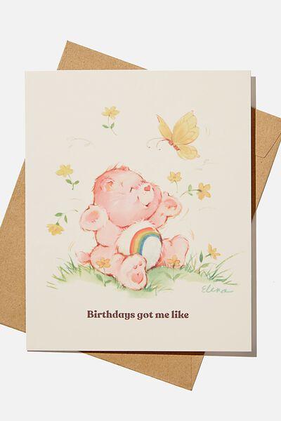 Nice Birthday Card, LCN CLC CARE BEARS BIRTHDAY BE LIKE