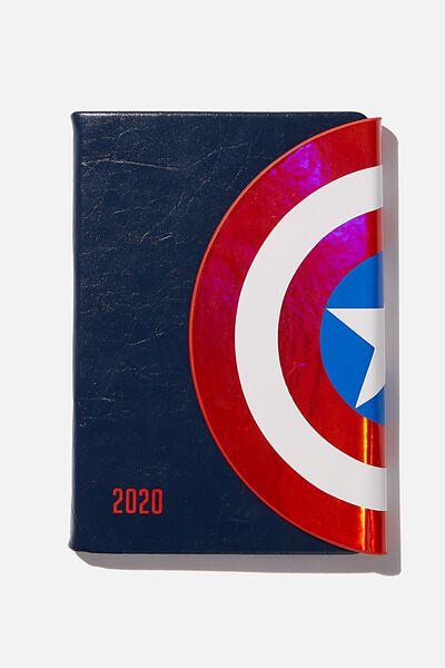 2020 A5 Shaped Diary, LCN MARVEL MARVEL