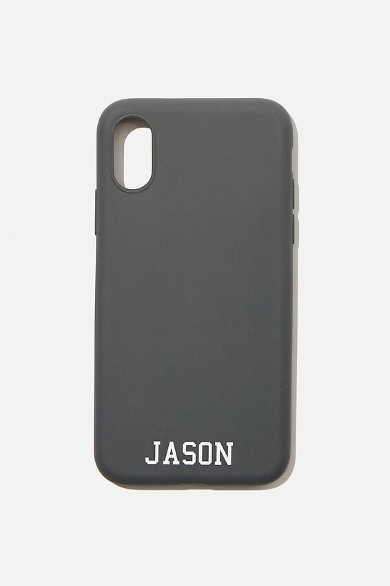 Personalised Recycled X, Xs Case, COOL GREY