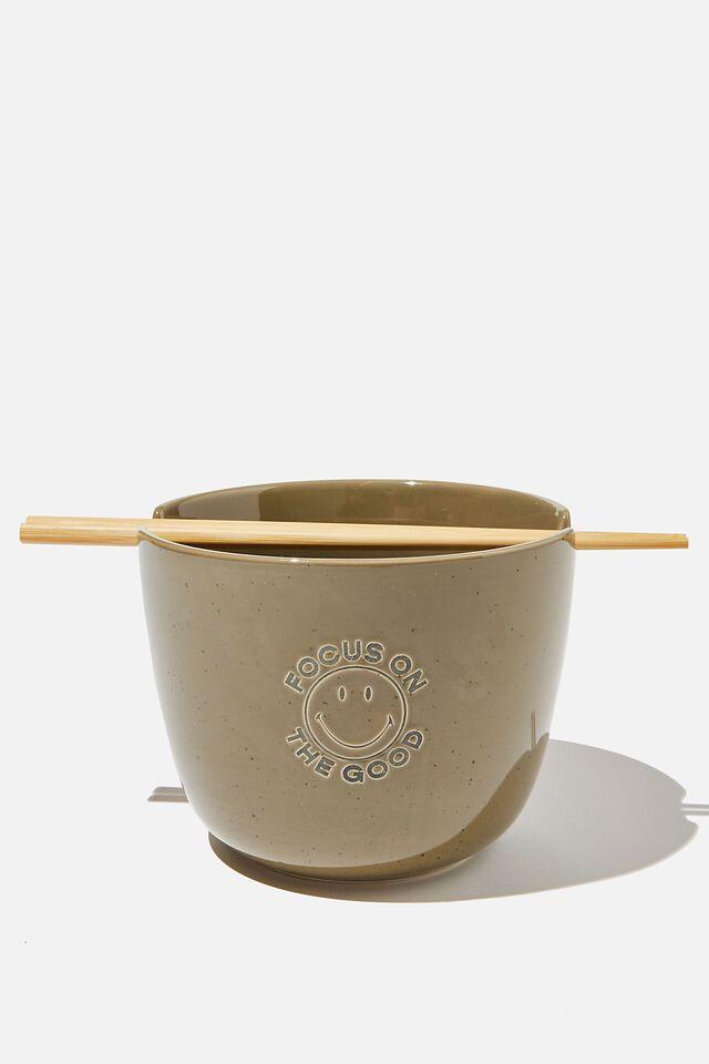 Smiley Feed Me Bowl, LCN SMI FOCUS ON GOOD